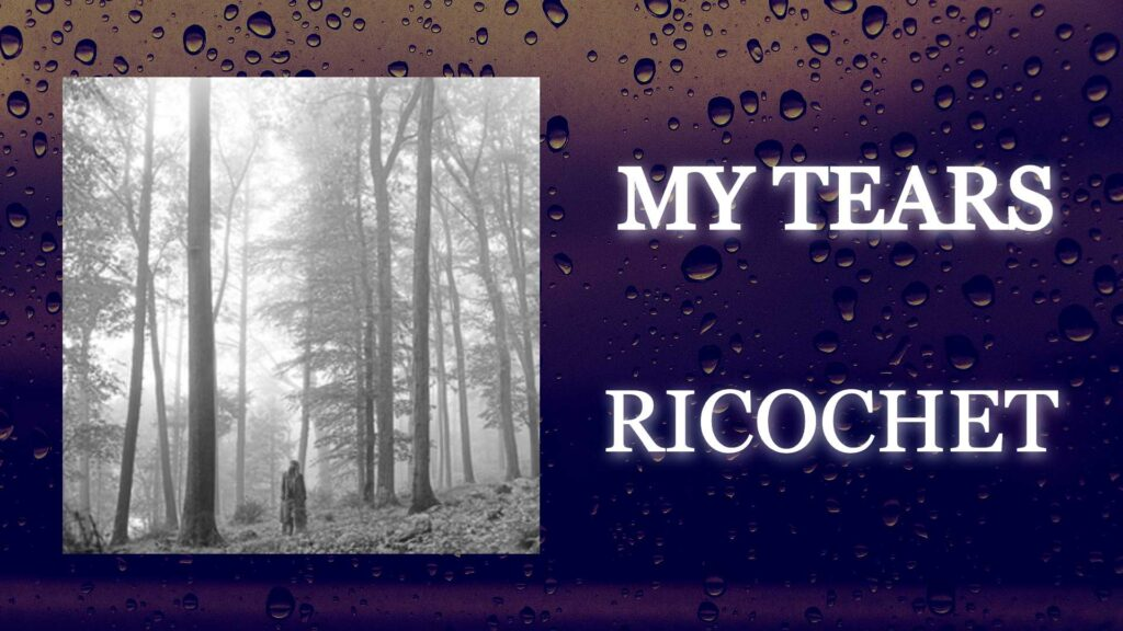 Taylor Swift's My Tears Ricochet Thumbnail
